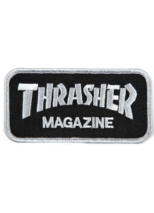 Patch Logo Grey Black