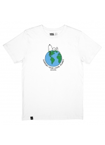 Snoopy Earth White