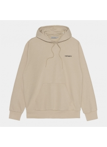 Hooded Script Embroidery Sweat